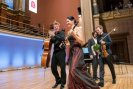 with Sharon Kam after the concert in Rudolfinum